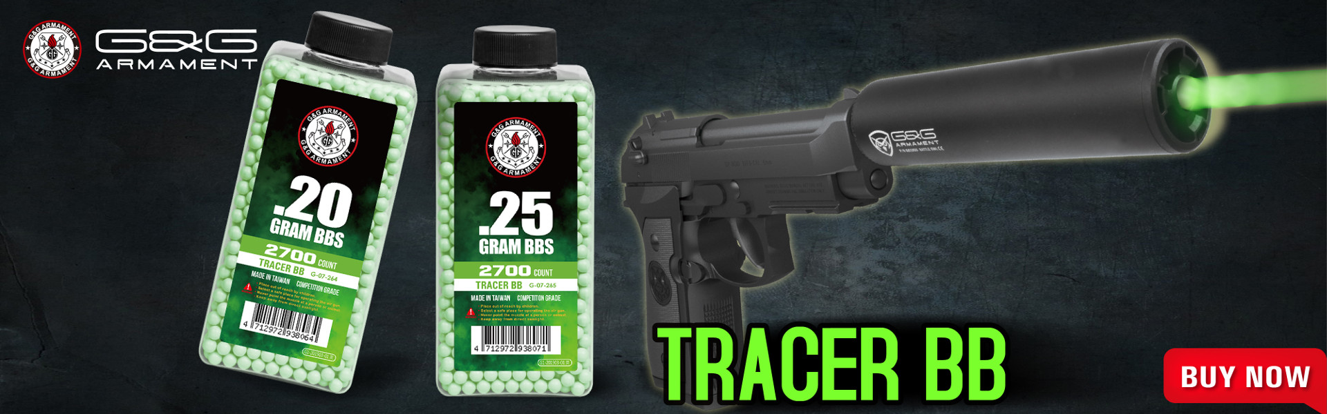 Green Tracer BBs 2700ct