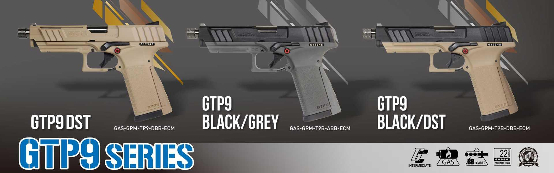 GTP 9 All Colors 2019