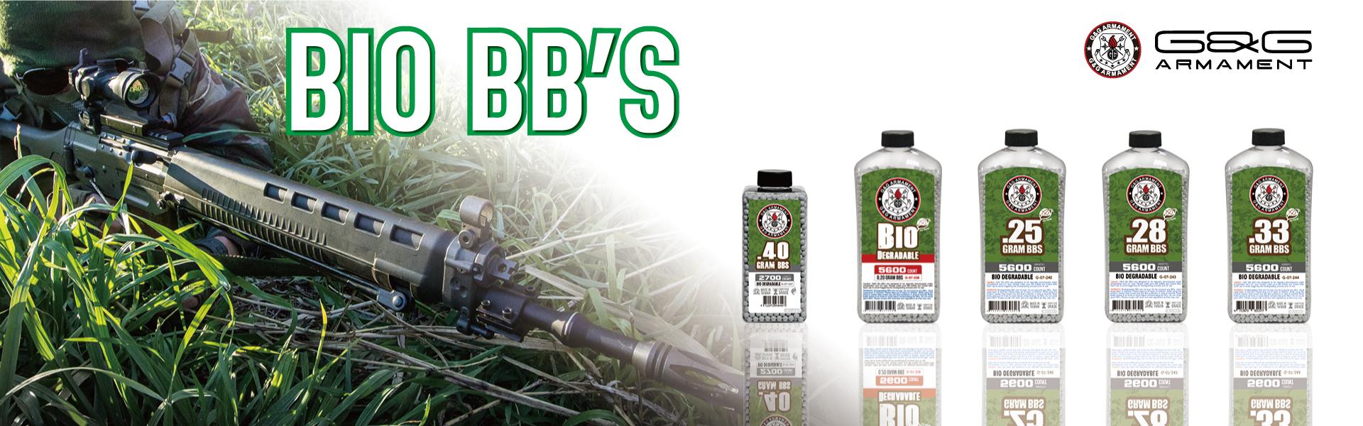 Biodegradable BB Bottled