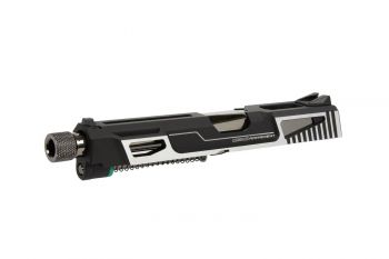GTP 9 CNC Aluminum Slide Kit - Black/Silver