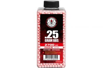Tracer BB's 0.25g (Bottle/2700 Pellets) (Red)