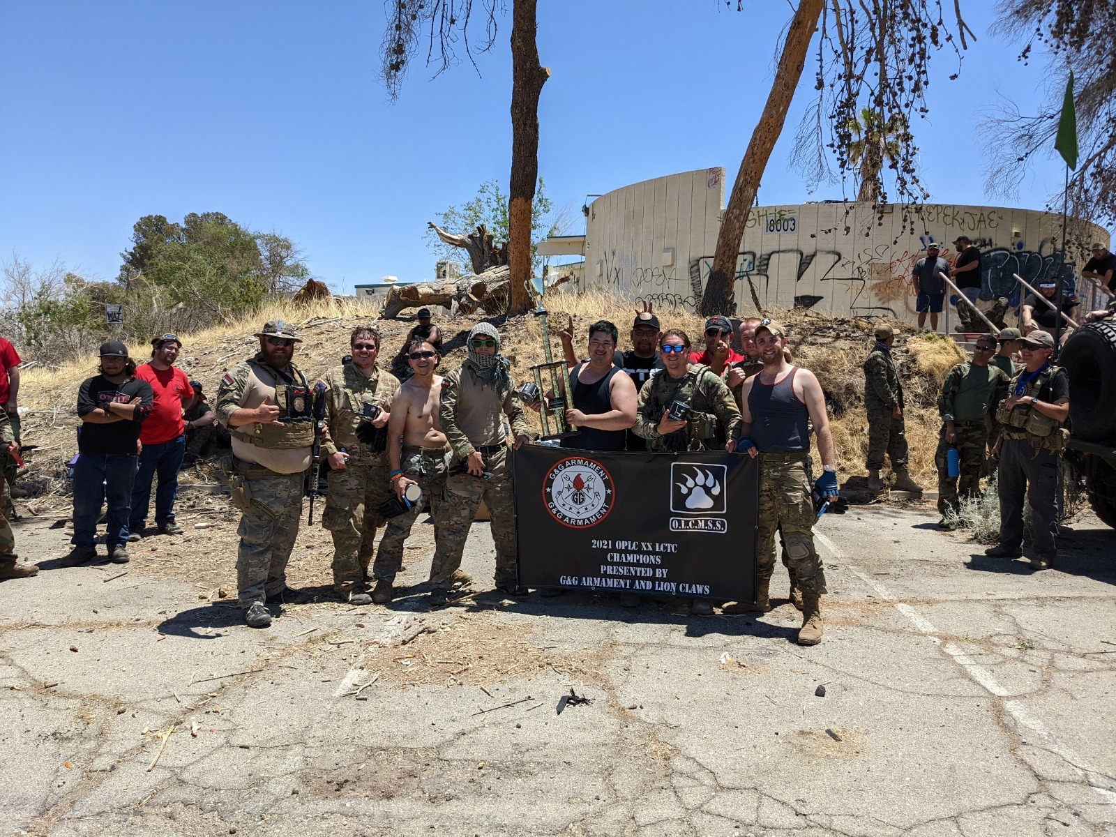 Operation Lion Claws XX Champions